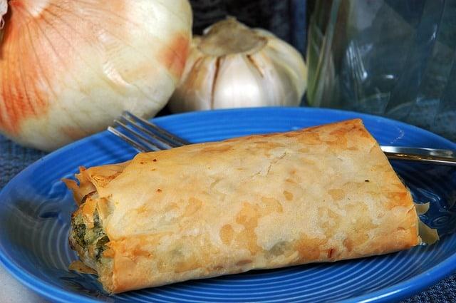 Delicious spinach pie
