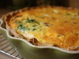 spinach pie preparation