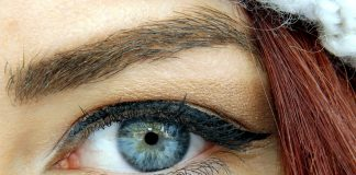 Smoky eyelids