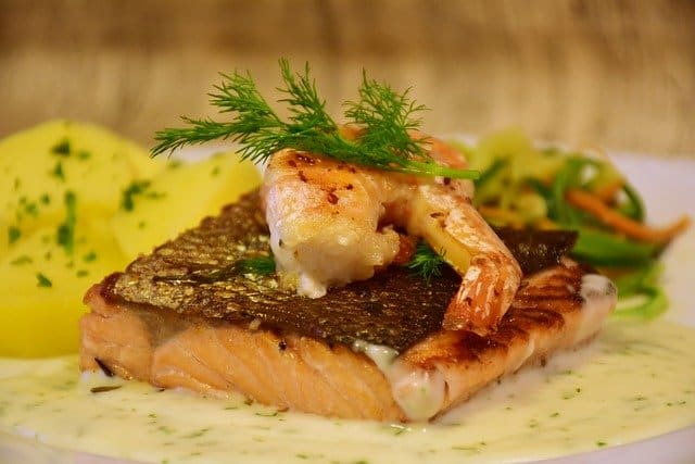 eating salmon is good for your skin