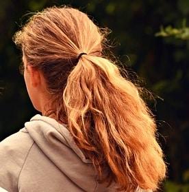 fluffy ponytail