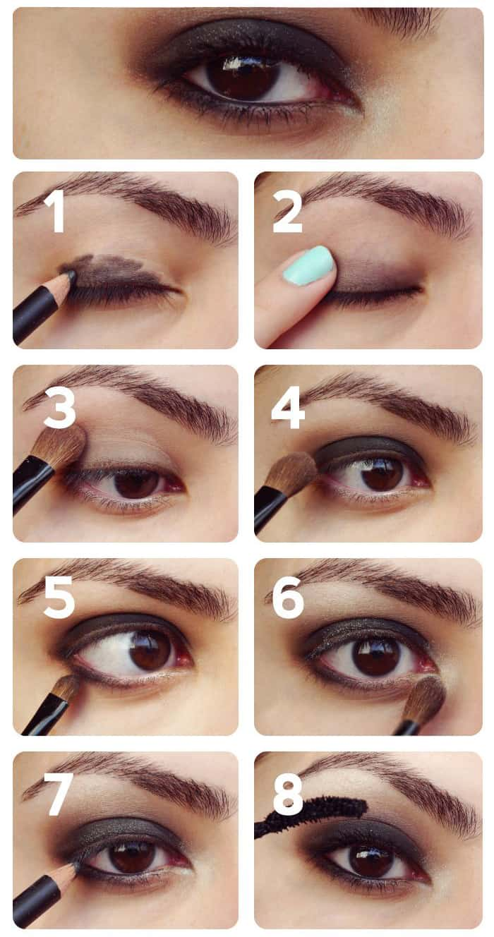 Beginners Eye Makeup: Smoky Eye Makeup For Beginners
