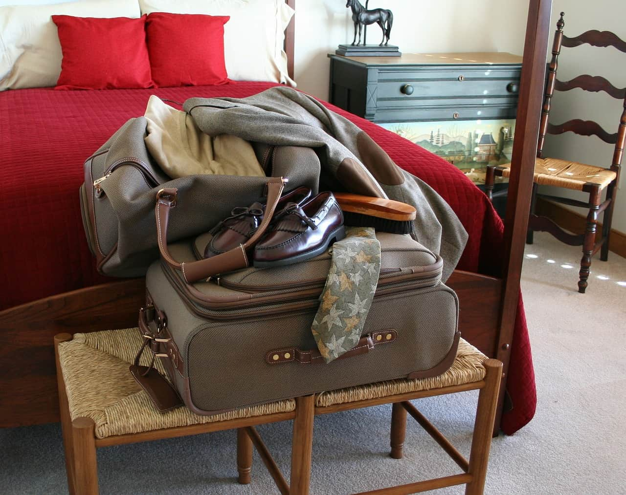 How to pack our bags