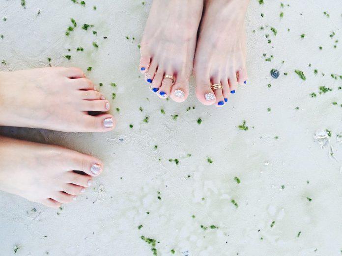 Match manicure pedicure color